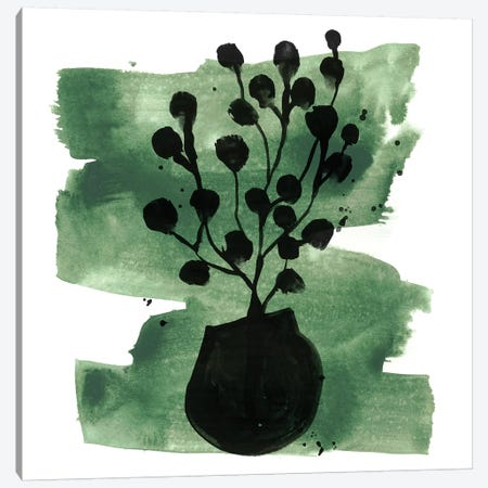 Tropical Sumi-e IV Canvas Print #JEV1639} by June Erica Vess Canvas Art