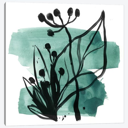 Tropical Sumi-e IX Canvas Print #JEV1640} by June Erica Vess Art Print