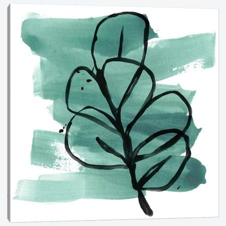 Tropical Sumi-e V Canvas Print #JEV1641} by June Erica Vess Canvas Art Print