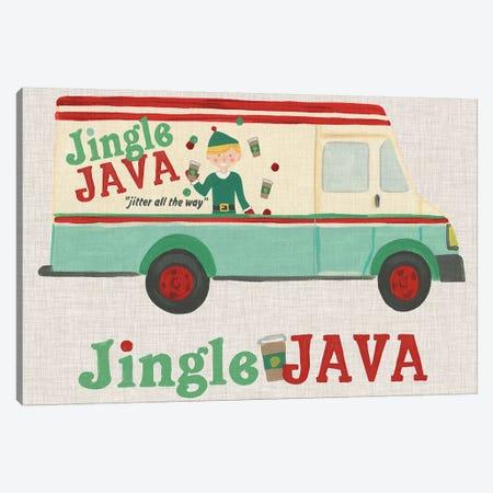 Food Truck Holidays II Canvas Print #JEV1662} by June Erica Vess Art Print