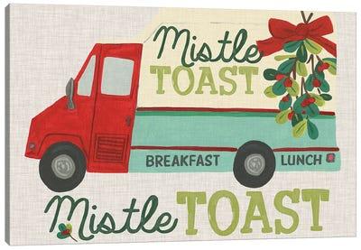 Food Truck Holidays III Canvas Art Print