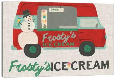 Food Truck Holidays IV Canvas Art Print