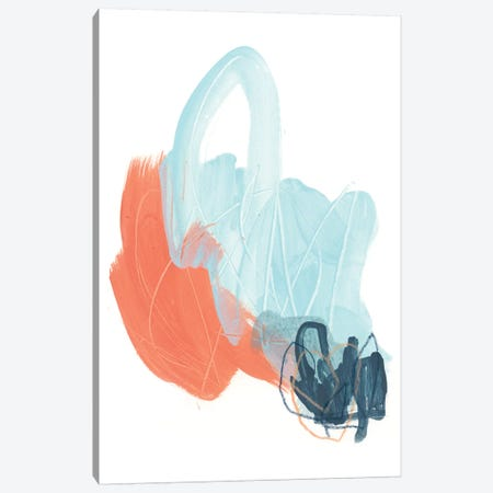 Blaze IV Canvas Print #JEV1672} by June Erica Vess Canvas Wall Art