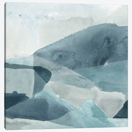 Blue Range II 3-Piece Canvas #JEV1674} by June Erica Vess Canvas Print
