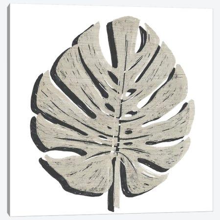 Cut Paper Palms I Canvas Print #JEV1691} by June Erica Vess Canvas Artwork