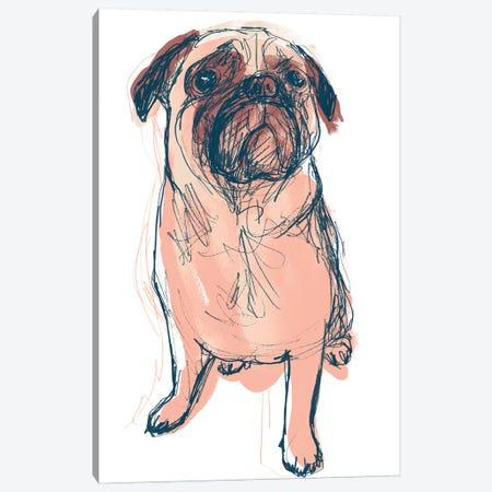 Dog Portrait--Dave Canvas Print #JEV1705} by June Erica Vess Canvas Art Print