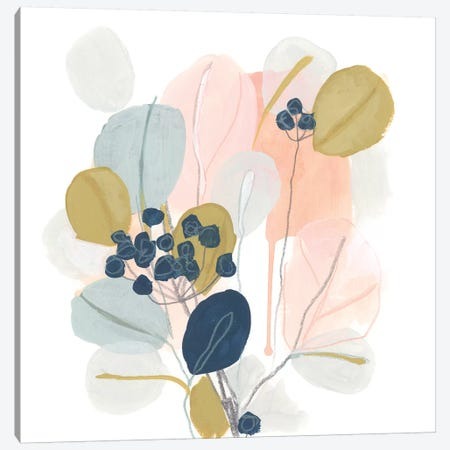Floral Mazurka III Canvas Print #JEV1713} by June Erica Vess Canvas Art Print