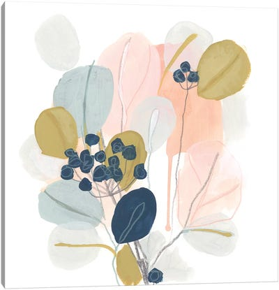 Floral Mazurka III Canvas Art Print