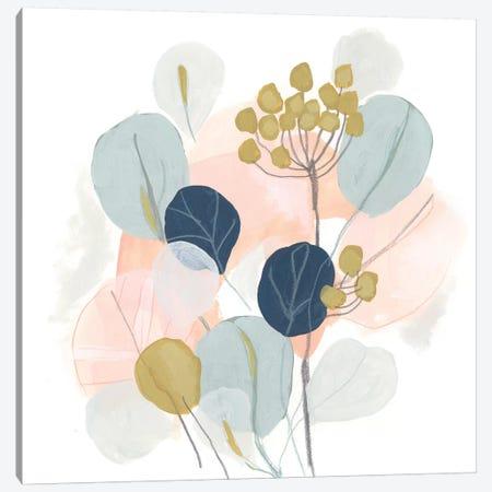 Floral Mazurka IV Canvas Print #JEV1714} by June Erica Vess Canvas Artwork