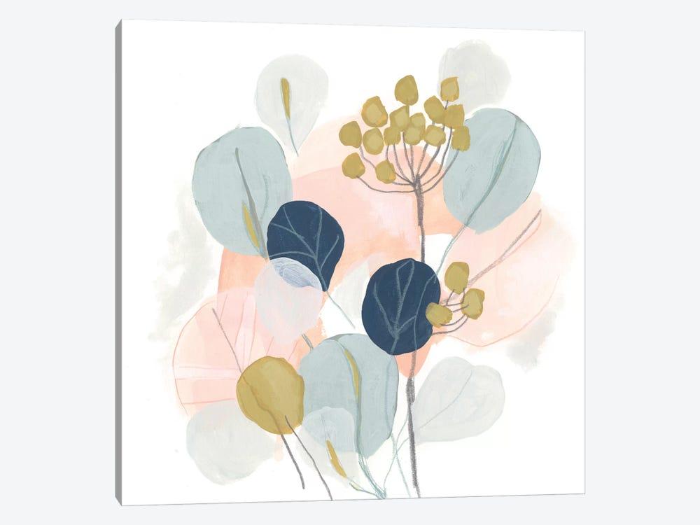 Floral Mazurka IV by June Erica Vess 1-piece Canvas Print