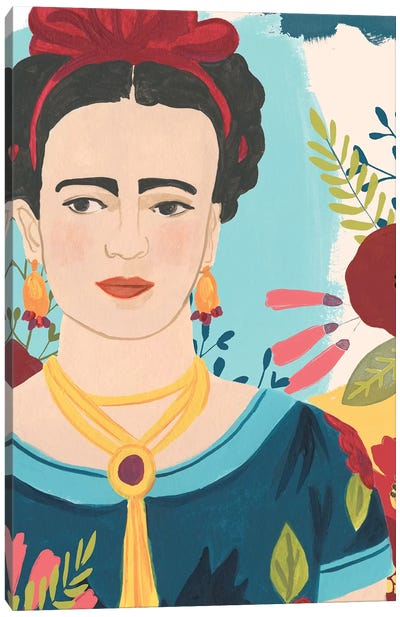 Frida's Garden I Canvas Art Print