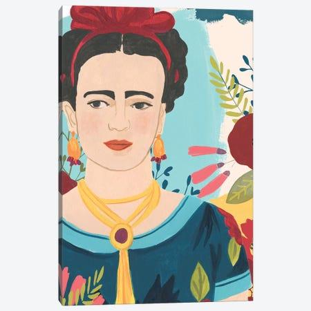 Frida's Garden I Canvas Print #JEV1715} by June Erica Vess Canvas Artwork