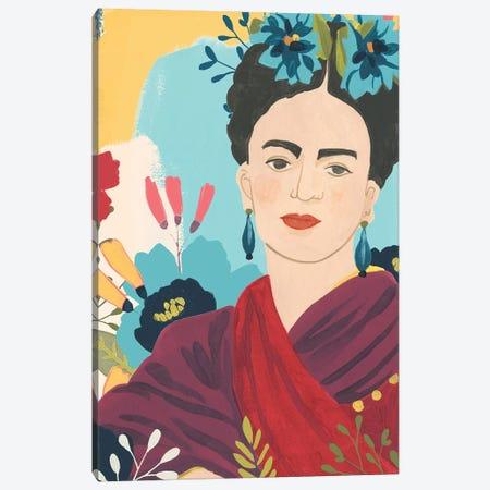 Frida's Garden II Canvas Print #JEV1716} by June Erica Vess Canvas Wall Art