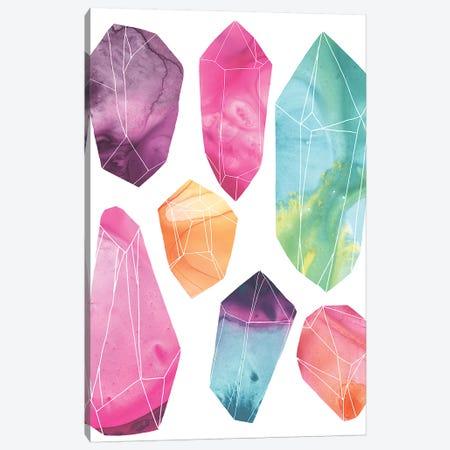 Prism Crystals II Canvas Print #JEV1743} by June Erica Vess Canvas Artwork
