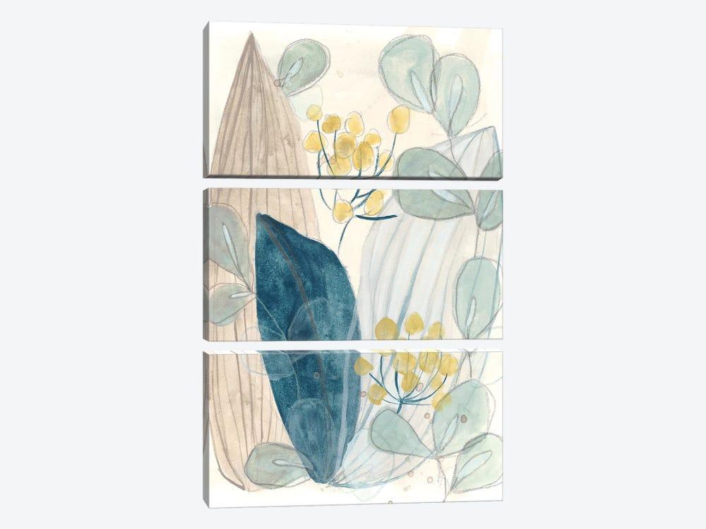 Terra Garden I by June Erica Vess 3-piece Canvas Wall Art