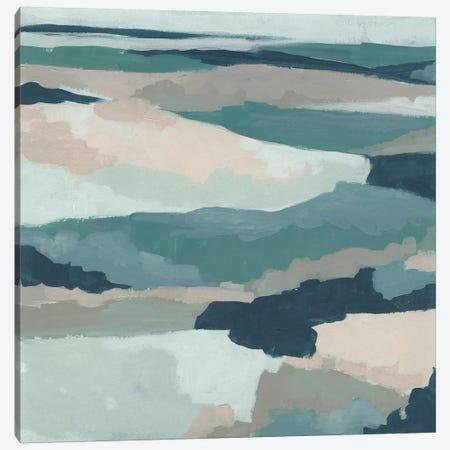 Blue Vista I Canvas Print #JEV1750} by June Erica Vess Art Print