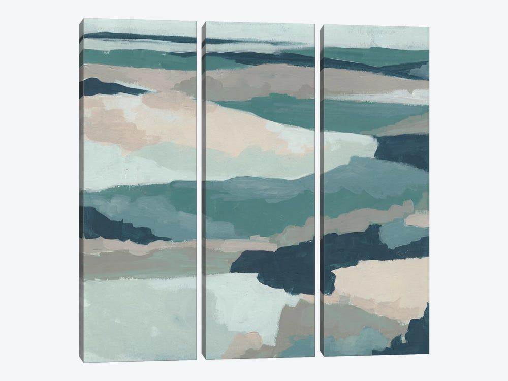 Blue Vista I by June Erica Vess 3-piece Art Print