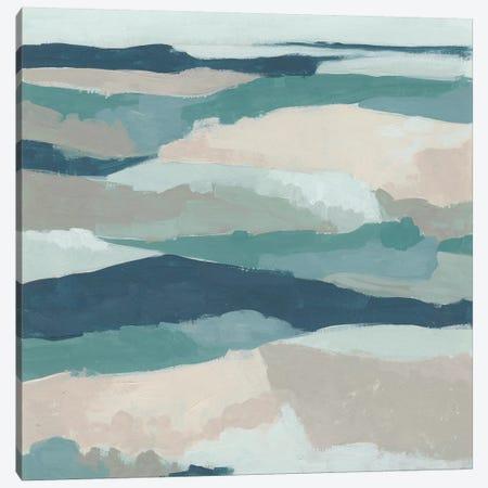 Blue Vista II Canvas Print #JEV1751} by June Erica Vess Canvas Art Print
