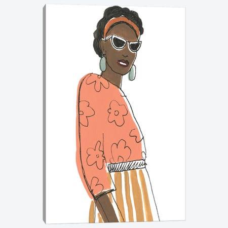 Fashion Vignette III Canvas Print #JEV1771} by June Erica Vess Canvas Art Print