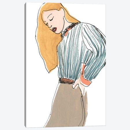 Fashion Vignette IV Canvas Print #JEV1772} by June Erica Vess Canvas Art Print