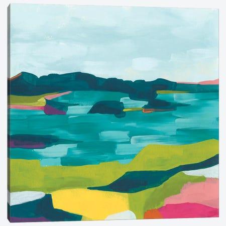 Kaleidoscope Coast II Canvas Print #JEV1774} by June Erica Vess Canvas Wall Art
