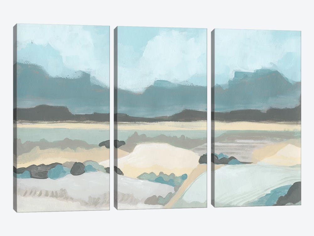 Mountain Valley Vista II by June Erica Vess 3-piece Canvas Print