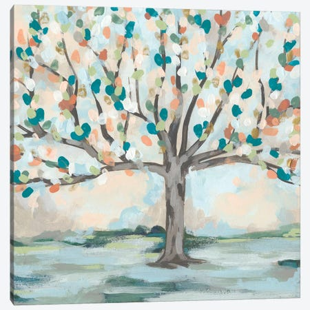 Delicate Arbor I 3-Piece Canvas #JEV1789} by June Erica Vess Canvas Wall Art