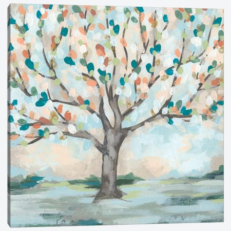 Delicate Arbor II Canvas Print #JEV1790} by June Erica Vess Art Print