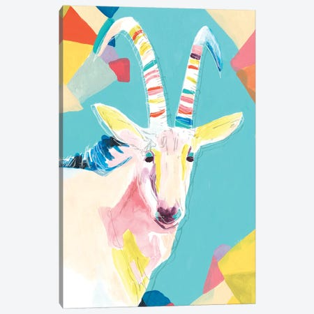 Safari Party I Canvas Print #JEV1791} by June Erica Vess Canvas Art Print