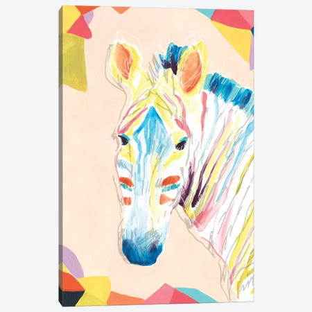Safari Party II Canvas Print #JEV1792} by June Erica Vess Canvas Print