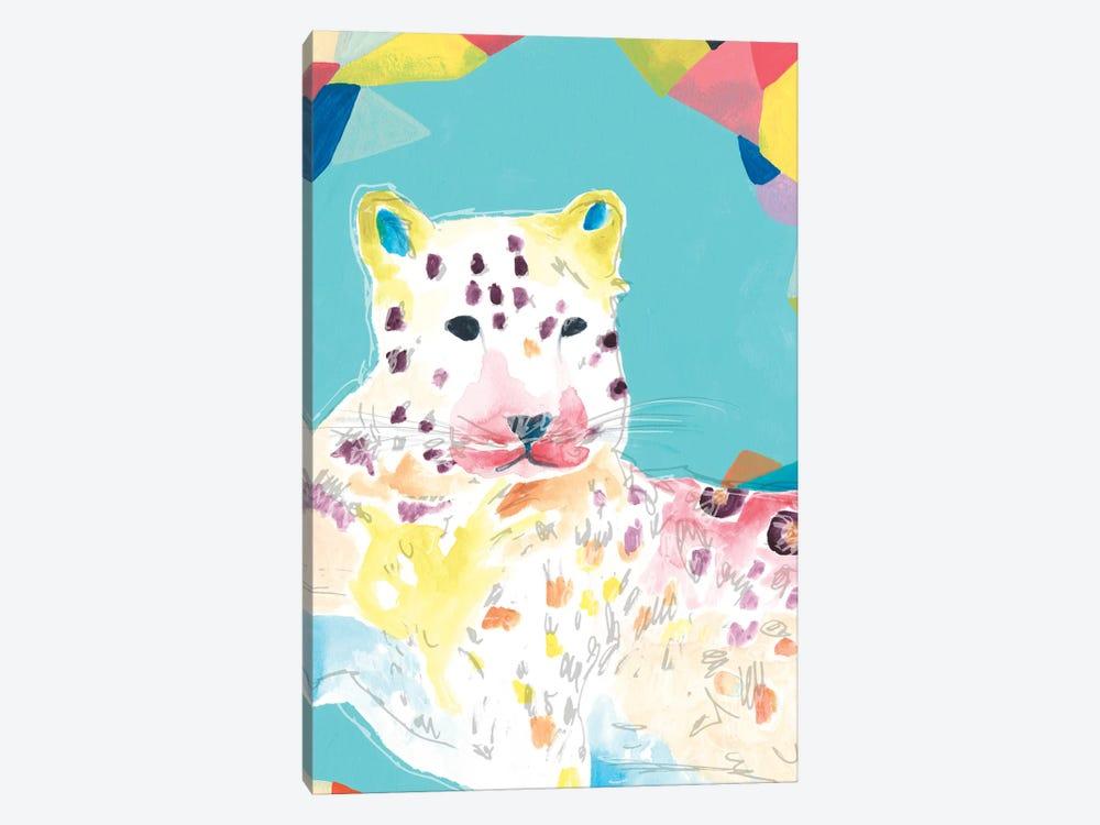 Safari Party IV by June Erica Vess 1-piece Canvas Art Print