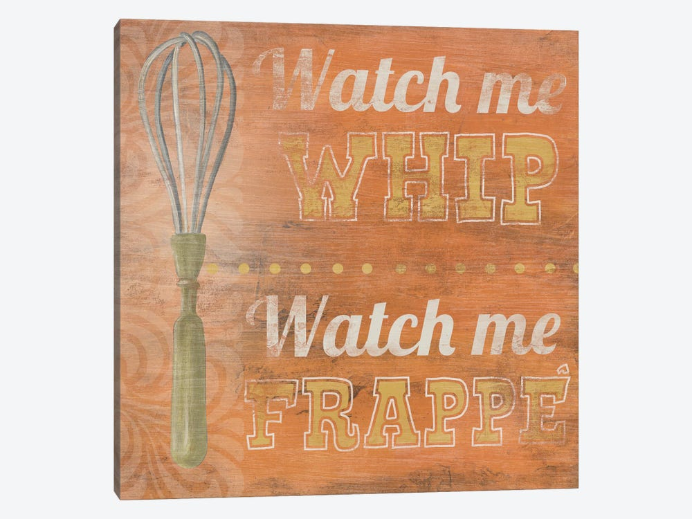 Hip Kitchen IV by June Erica Vess 1-piece Canvas Wall Art