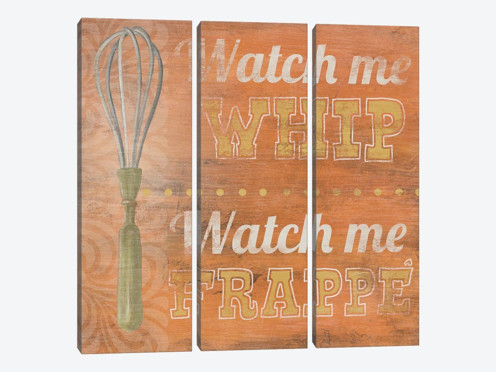 Hip Kitchen IV by June Erica Vess 3-piece Canvas Artwork