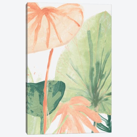 Blush Breeze IV 3-Piece Canvas #JEV1801} by June Erica Vess Canvas Print