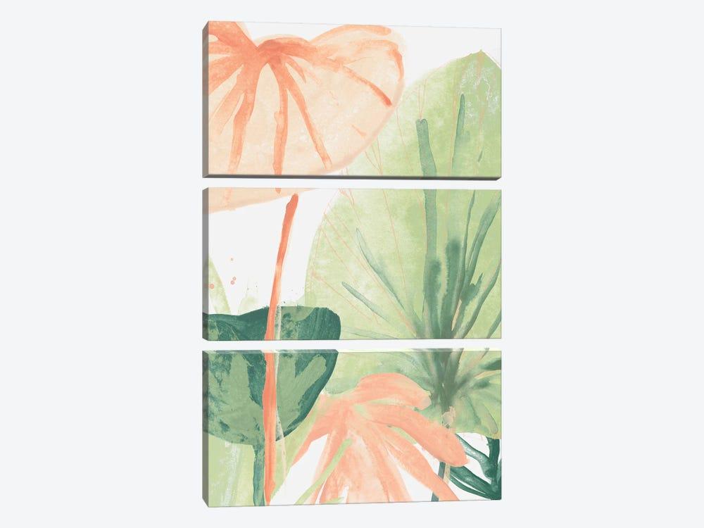 Blush Breeze IV by June Erica Vess 3-piece Canvas Print