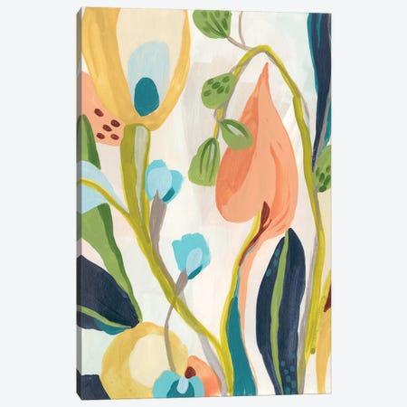 Jungle Jewels I Canvas Print #JEV1808} by June Erica Vess Art Print