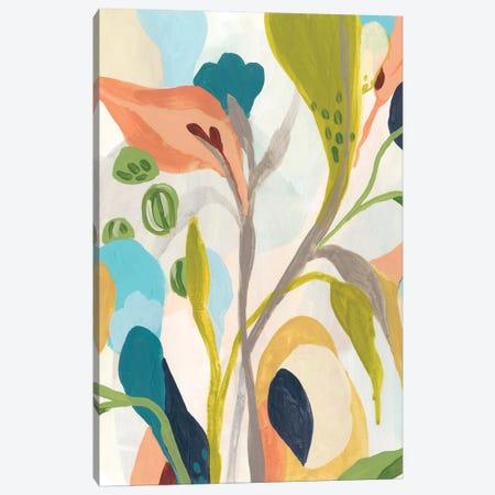 Jungle Jewels IV Canvas Print #JEV1810} by June Erica Vess Canvas Art