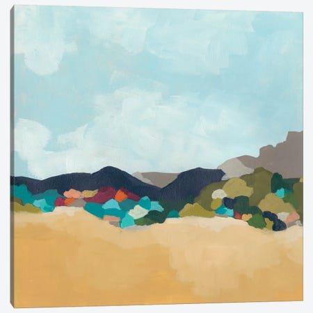 Patchwork Hillside I Canvas Print #JEV1811} by June Erica Vess Canvas Wall Art