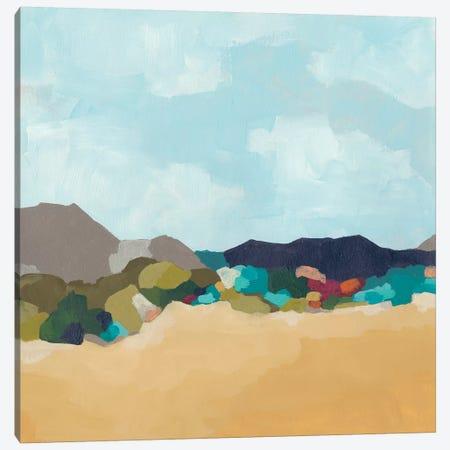 Patchwork Hillside II Canvas Print #JEV1812} by June Erica Vess Canvas Artwork