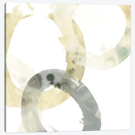 Neutral Halo I Canvas Print #JEV182} by June Erica Vess Art Print