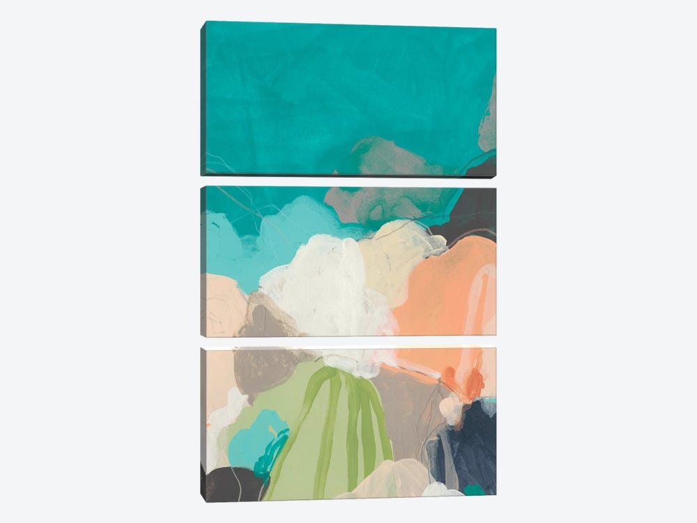 Quirkscape II by June Erica Vess 3-piece Art Print