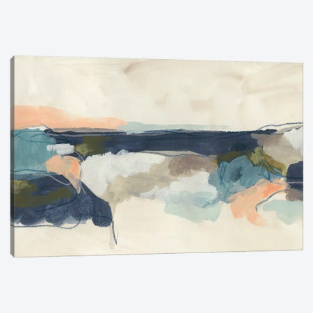 Palette Horizon I Canvas Print #JEV1831} by June Erica Vess Canvas Artwork