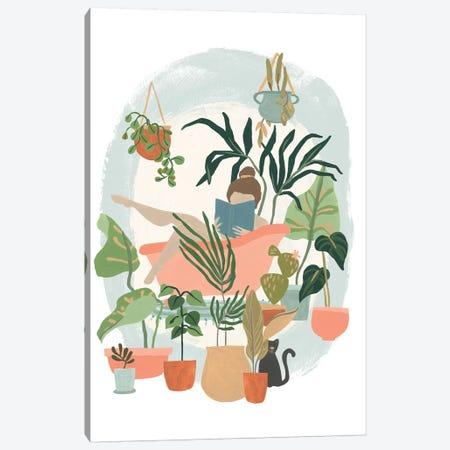 Plant Lady Bath I 3-Piece Canvas #JEV1835} by June Erica Vess Canvas Art Print