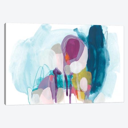 Colorful Orbit III Canvas Print #JEV1857} by June Erica Vess Art Print