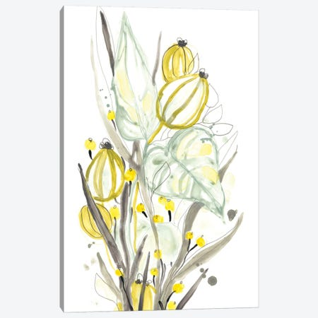 Ethereal Citron I Canvas Print #JEV1859} by June Erica Vess Canvas Art