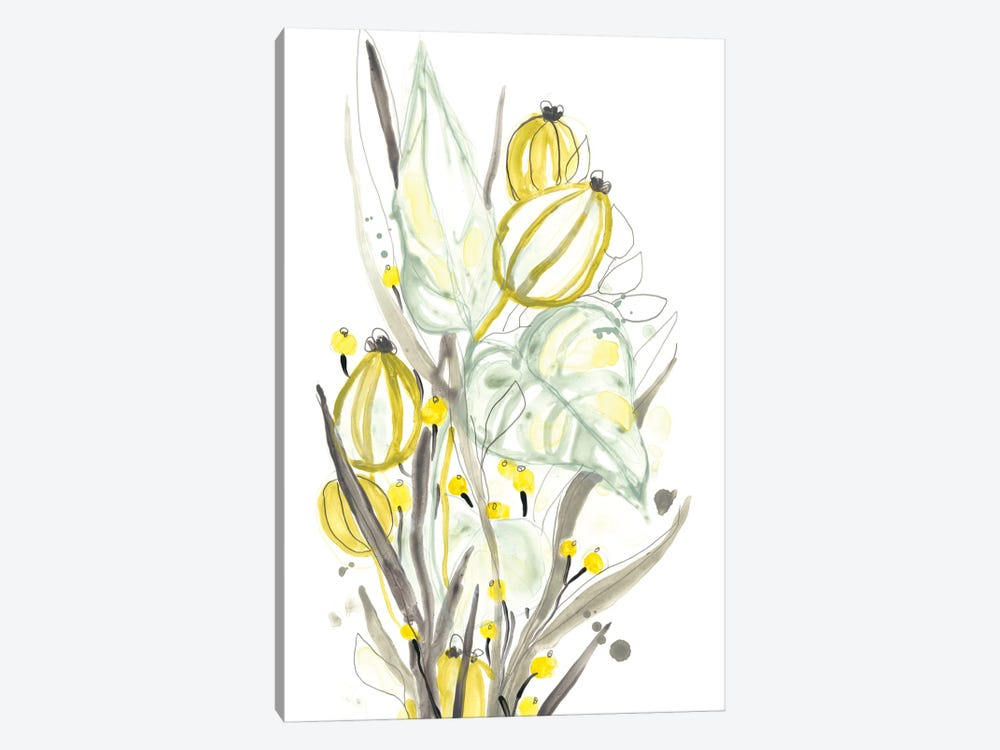 Ethereal Citron I by June Erica Vess 1-piece Canvas Artwork