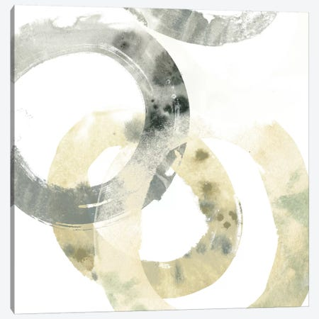Neutral Halo IV Canvas Print #JEV185} by June Erica Vess Canvas Wall Art