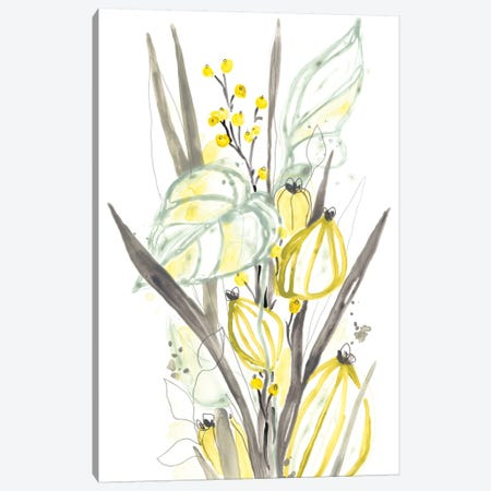 Ethereal Citron II Canvas Print #JEV1860} by June Erica Vess Canvas Art Print
