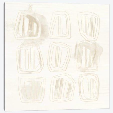 Neutral Logic II Canvas Print #JEV187} by June Erica Vess Canvas Artwork