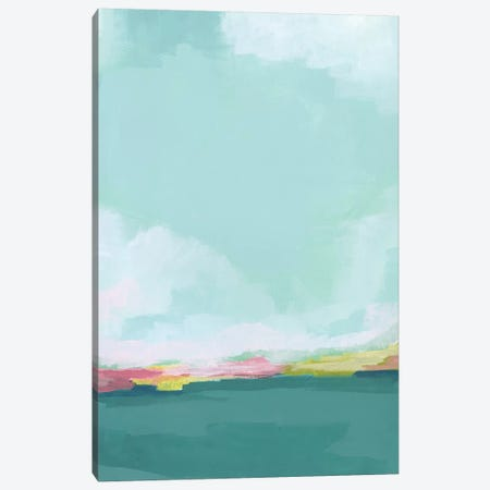 Island Horizon I Canvas Print #JEV1900} by June Erica Vess Canvas Art